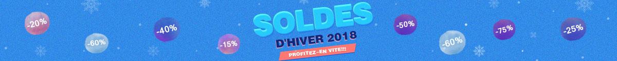 Soldes d'hiver en France 2018
