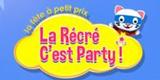 Codes Promo La Récré C'est Party